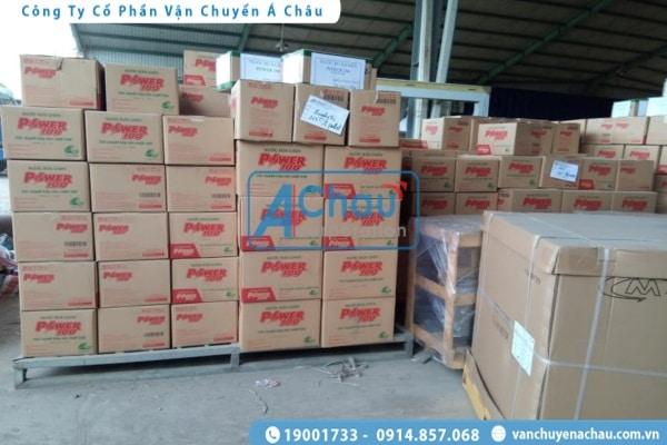Chở hàng tiêu dùng đi Nam Định