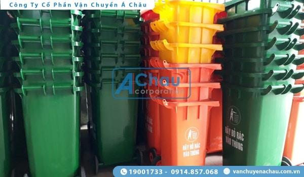 vận chuyển thùng nhựa công nghiệp