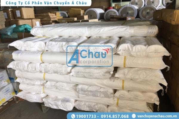 Vận chuyển hàng vải cuộn đi Hà Nội
