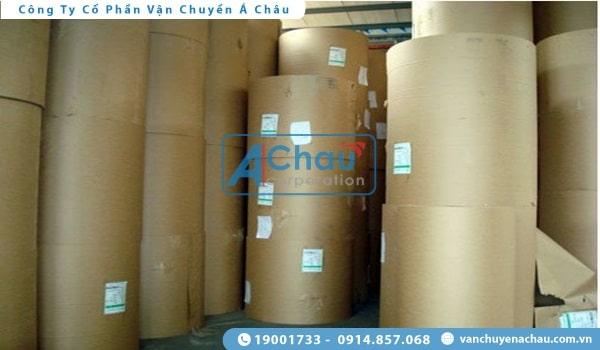 vận chuyển giấy cuộn