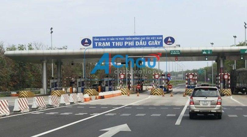 Danh sách các trạm thu phí trên quốc lộ 1A chặng Hà Nội - Tphcm