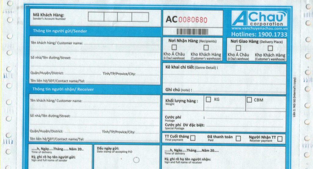 Hướng dẫn chi tiết cách gửi hàng và tra cứu vận đơn