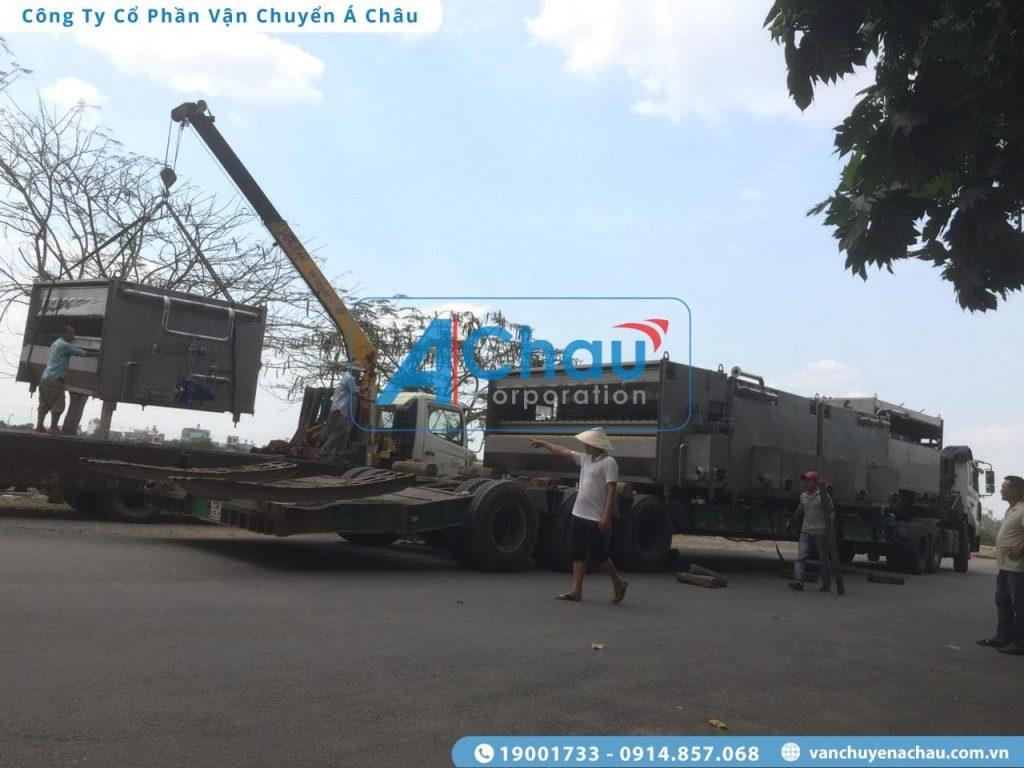 Vận chuyển hàng máy móc thiết bị nặng