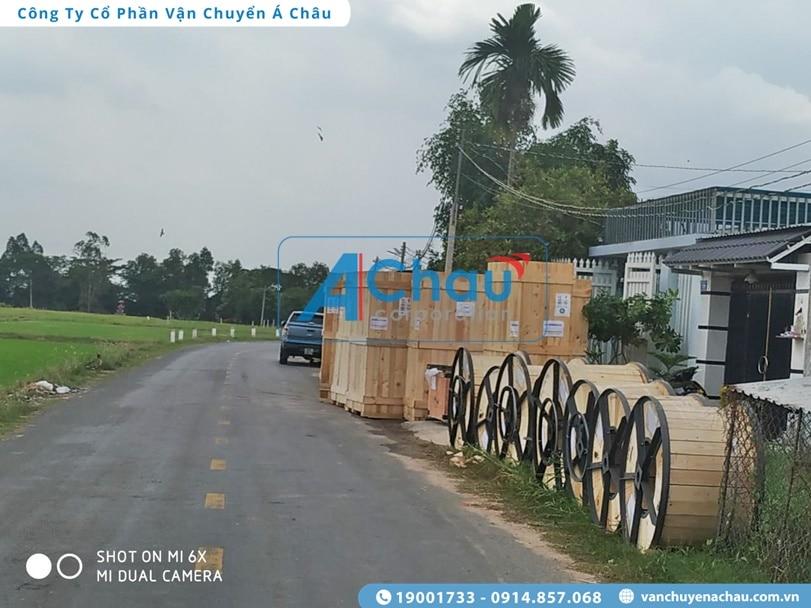 Chở hàng Tp.HCM đi Bắc Ninh