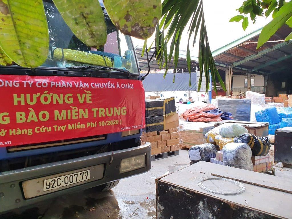 xe tải chở về miền trung