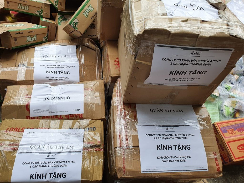hàng cứu trợ Á Châu