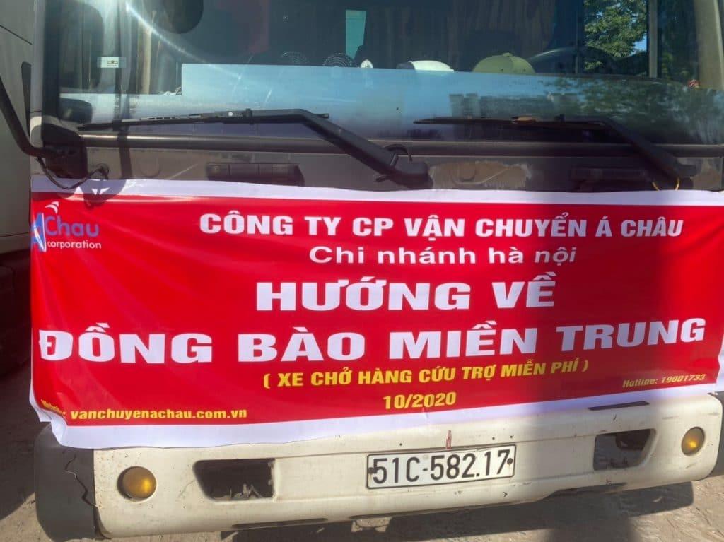 Hà Nội cứu trợ