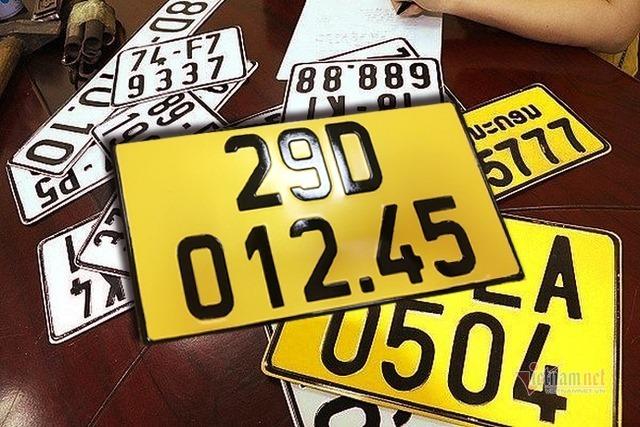 Quy định cho doanh nghiệp vận tải khi đổi biển số xe